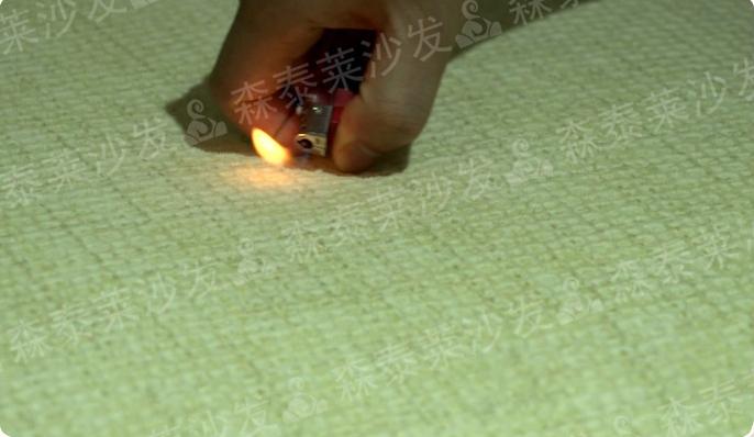 布艺沙发品牌沙发定做免洗沙发面料实验