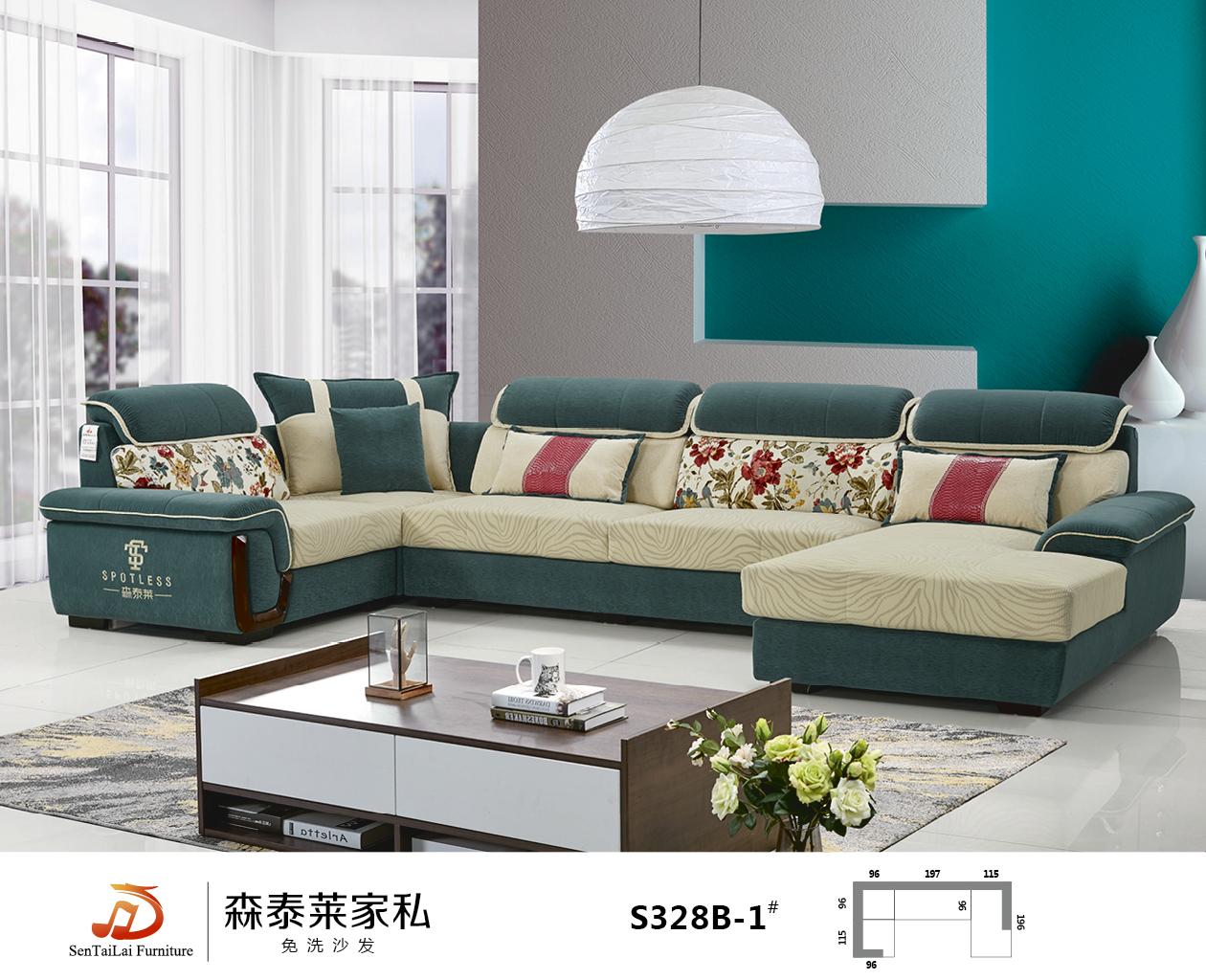 选一款漂亮的布艺沙发,定能惊艳你的家!