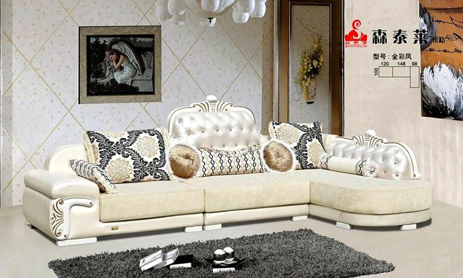 欧式现代沙发-金彩凤