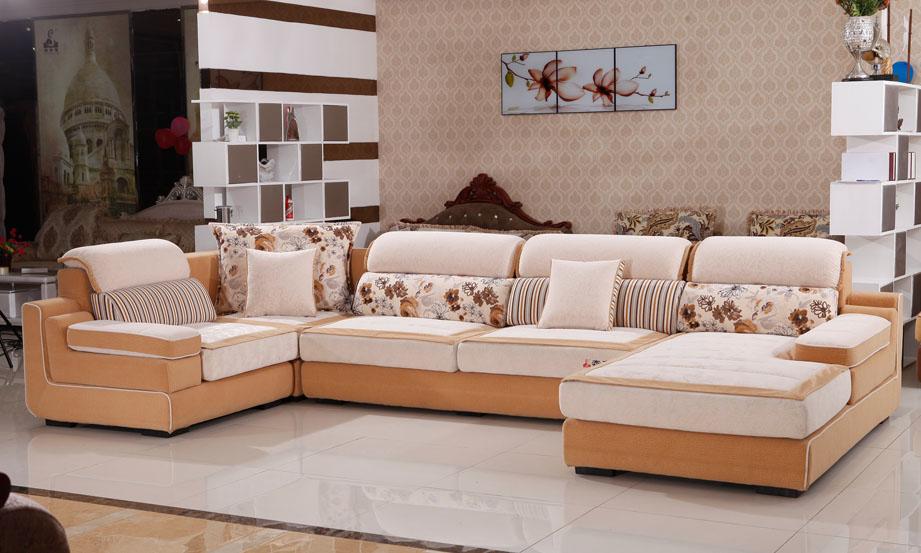 休闲布艺沙发S262