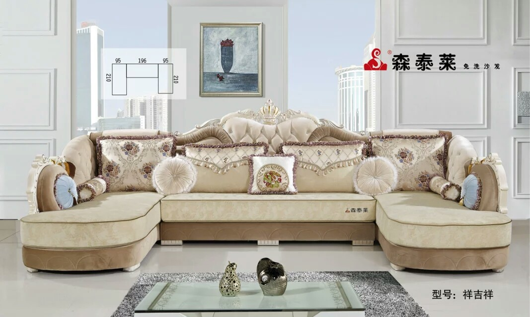 欧式客厅沙发-祥吉祥