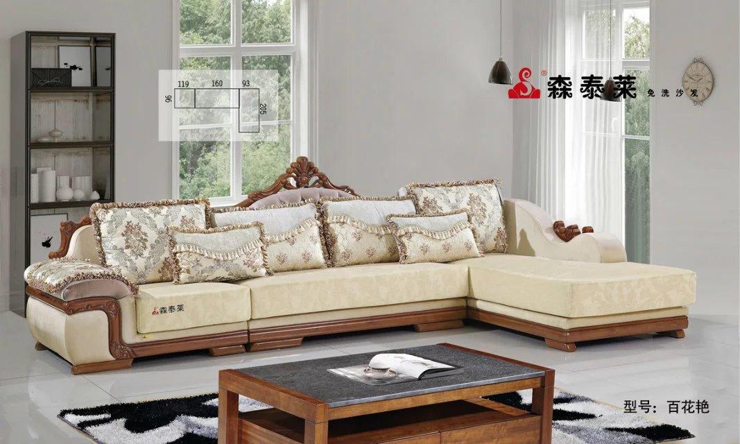 欧式现代沙发-百花艳