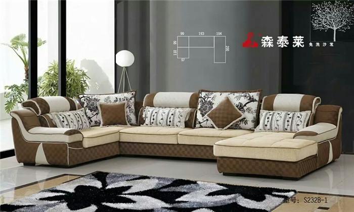 成都布艺沙发摆放效果图
