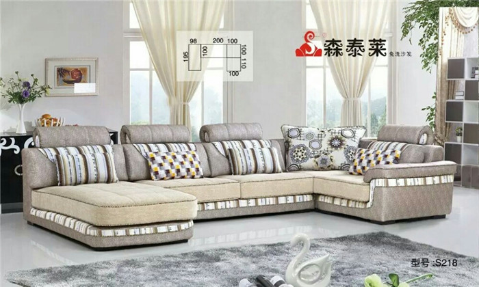 客厅布艺沙发-S218