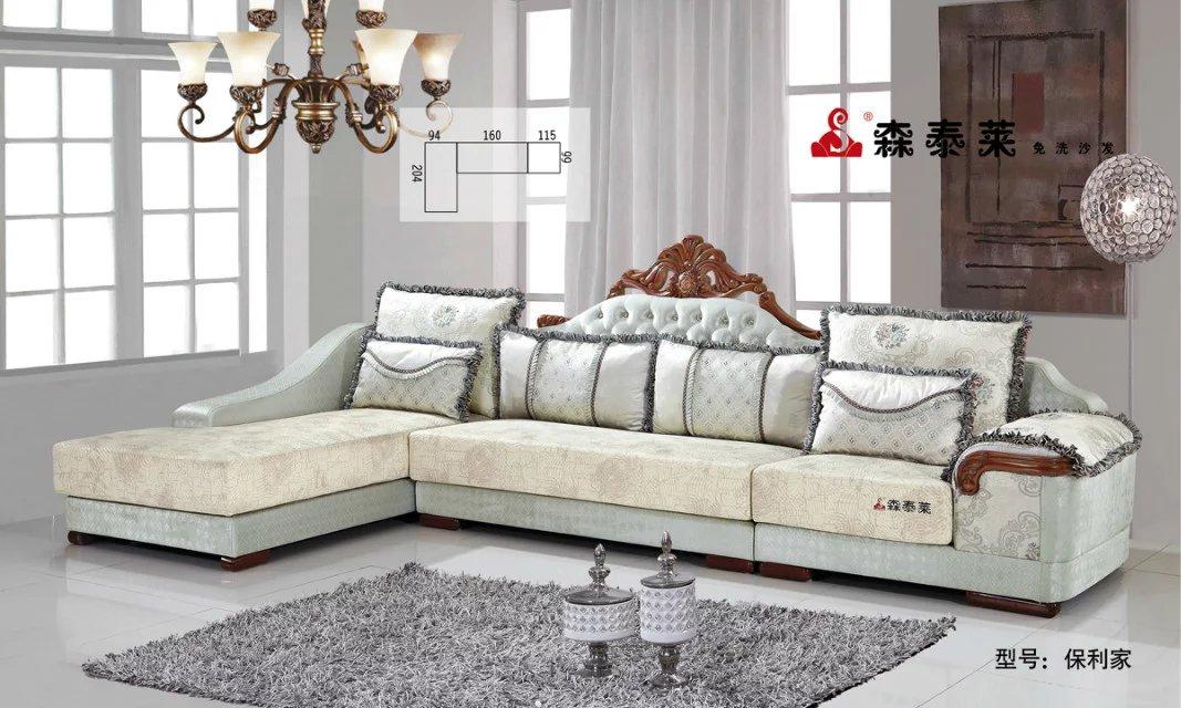欧式客厅沙发-保利家