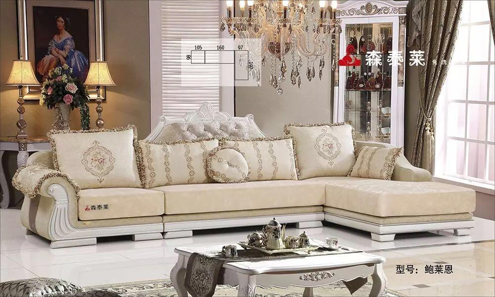 欧式客厅沙发-鲍莱恩