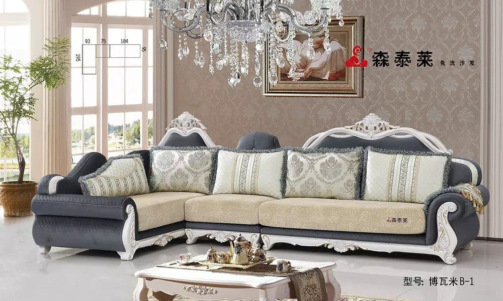 欧式客厅沙发-博瓦米B-1