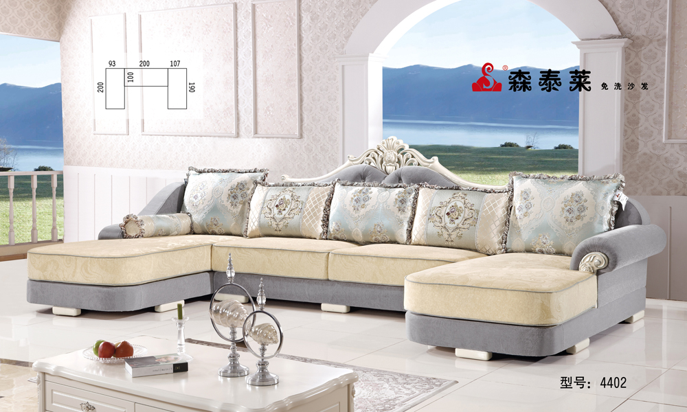 大户型欧式沙发-4402
